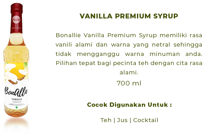 text bonallie Vanilla